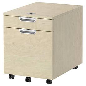 IKEA GALANT (802.064.36) Комод з місцем для документів, ok birches