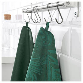 IKEA VILDKAPRIFOL (703.655.34) Рушник кухонне, зелене листя