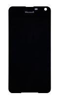 Оригинальный дисплей (модуль) + тачскрин (сенсор) для Microsoft Lumia 650 (черный цвет)