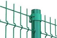Забор секционный ЭКО 3D (панель) 930х2500 мм  диаметр 3х3 мм