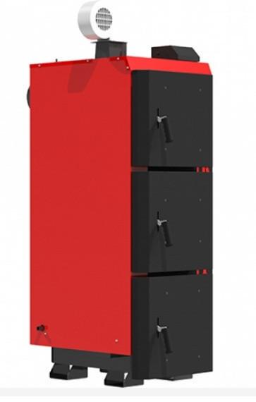 Котел длительного горения Kraft серия L 75 кВт с автоматическим управлением (Крафт )