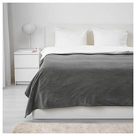 IKEA TRATTVIVA (703.496.81) Покривало, сірий