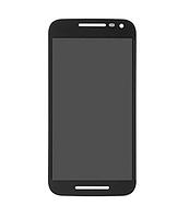 Оригинальный дисплей (модуль) + тачскрин (сенсор) для Motorola Moto G Turbo XT1557 (черный цвет)