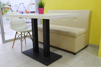 Барный стол Родас-BL белый от SDM Group, 120*60 см