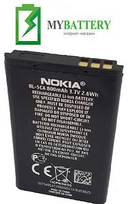 Оригинальный аккумулятор АКБ батарея для Nokia 1112/ 1200/ 1208/ 1209/ 1680/ 1616/ BL-5CA 800мAh 3.7V