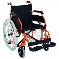 Коляска инвалидная регулируемая с фиксатором без двигателя Golfi-19 Heaco, фото 1