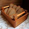 """Хлебницца для сервироки, деревянная """"Француз"""" Дуб Lasco 220мм х 140мм x 80мм 6304d-SCL, фото 3"""