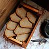 """Хлебницца для сервироки, деревянная """"Француз"""" Дуб Lasco 220мм х 140мм x 80мм 6304d-SCL, фото 5"""