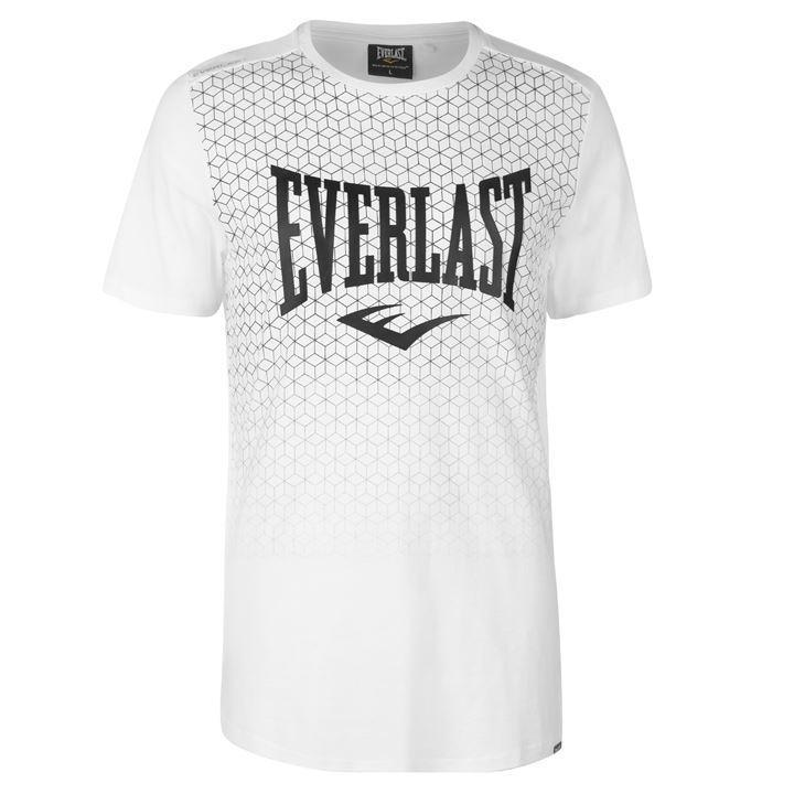 Футболка Everlast Geometric Print T Shirt Mens