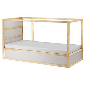 IKEA KURA (802.538.09) Двостороння ліжко, біла, сосна