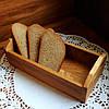 Хлебница для сервировки стола Дуб  Lasco 215 х 95 х 70 h мм 6301d-SCL, фото 2