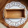 Хлебница для сервировки стола Дуб  Lasco 215 х 95 х 70 h мм 6301d-SCL, фото 4
