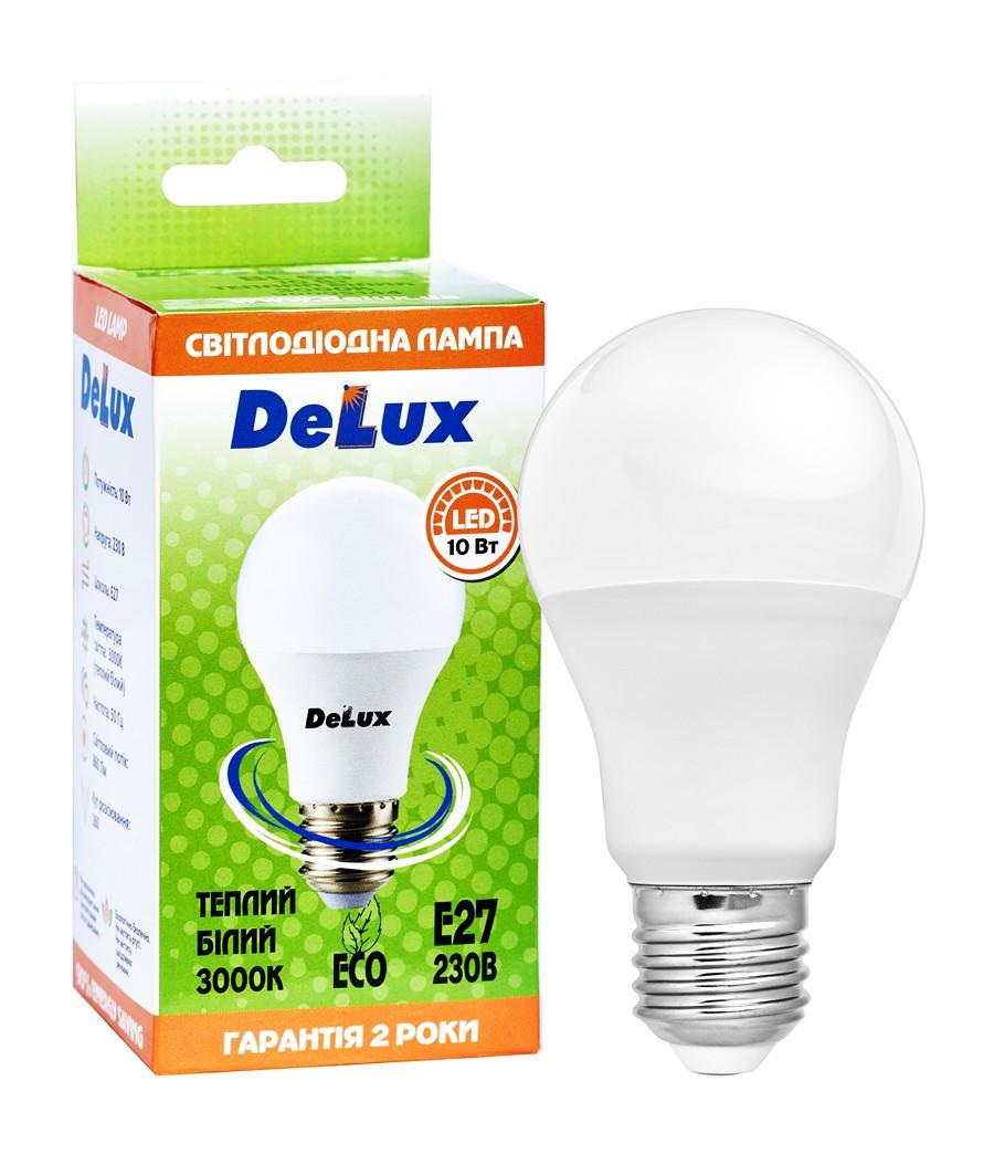 Светодиодная лампа DELUX BL 60 10Вт 3000K 220В E27