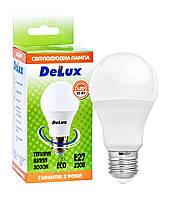 Светодиодная лампа DELUX BL 60 10Вт 3000K 220В E27, фото 1