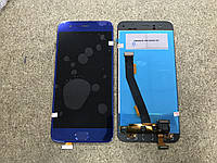 Оригинальный дисплей (модуль) + тачскрин (сенсор) для Xiaomi Mi6 (синий цвет)