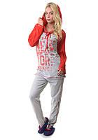 Женская пижама с капюшоном Турция