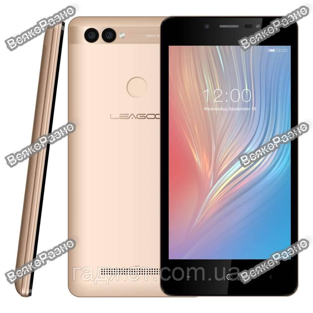 21fc7637f4427 Смартфон LEAGOO Power 2 золотого цвета 2/16gb Quad Core 5.0