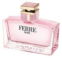 Оригинал Ferré Rose Ferré 100ml edt Ферре Роуз (женственный, чарующий, изысканный аромат)
