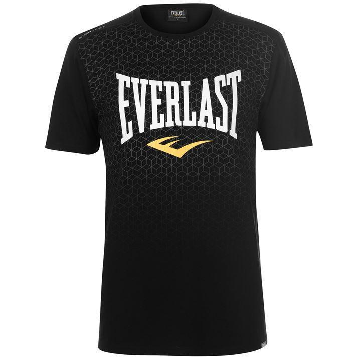 Футболка Everlast Geometric Print T Shirt Mens