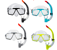 Комплект для плавания маска, трубка Dolvor М 4204, фото 1