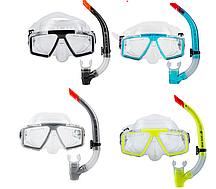 Комплект для плавания маска, трубкаDolvor М 4204