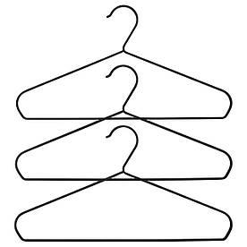 IKEA STRYKIS (103.170.65) Вішалка, чорний