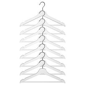 IKEA BUMERANG (702.385.41) Вішалка, біла