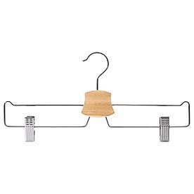 IKEA BUMERANG (602.404.03) Вішалка для штанів/спідниць, хром