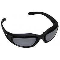 Армейские тактические очки MFH Assault, чёрные, 25863