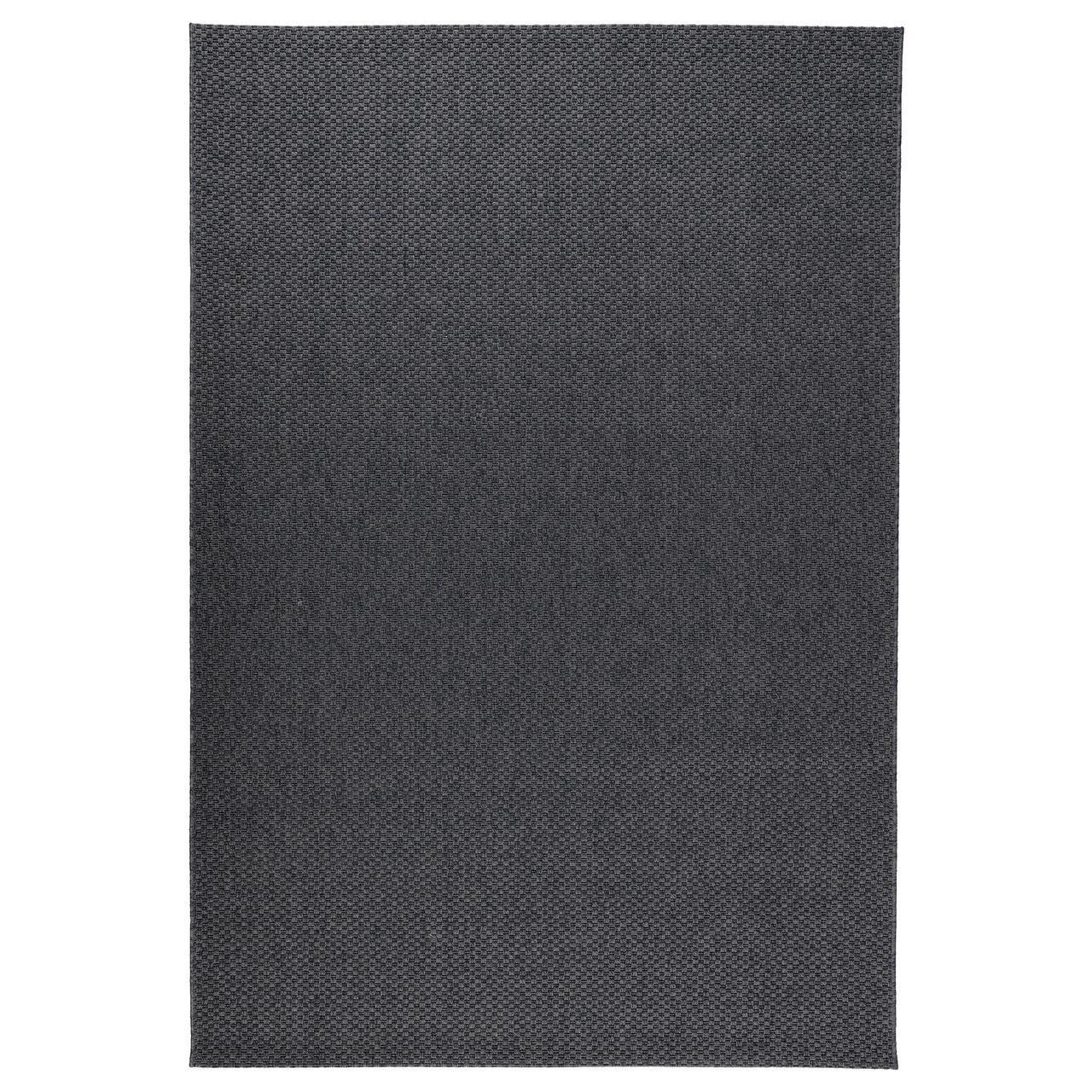 IKEA MORUM (301.982.93) Ковер, внутри/снаружи темно-серый