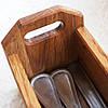 """Лоток для столовых приборов  """"Дерев'яна Корзинка"""" Lasco 260 х 70 х 80 мм 6206d-SCL, фото 5"""