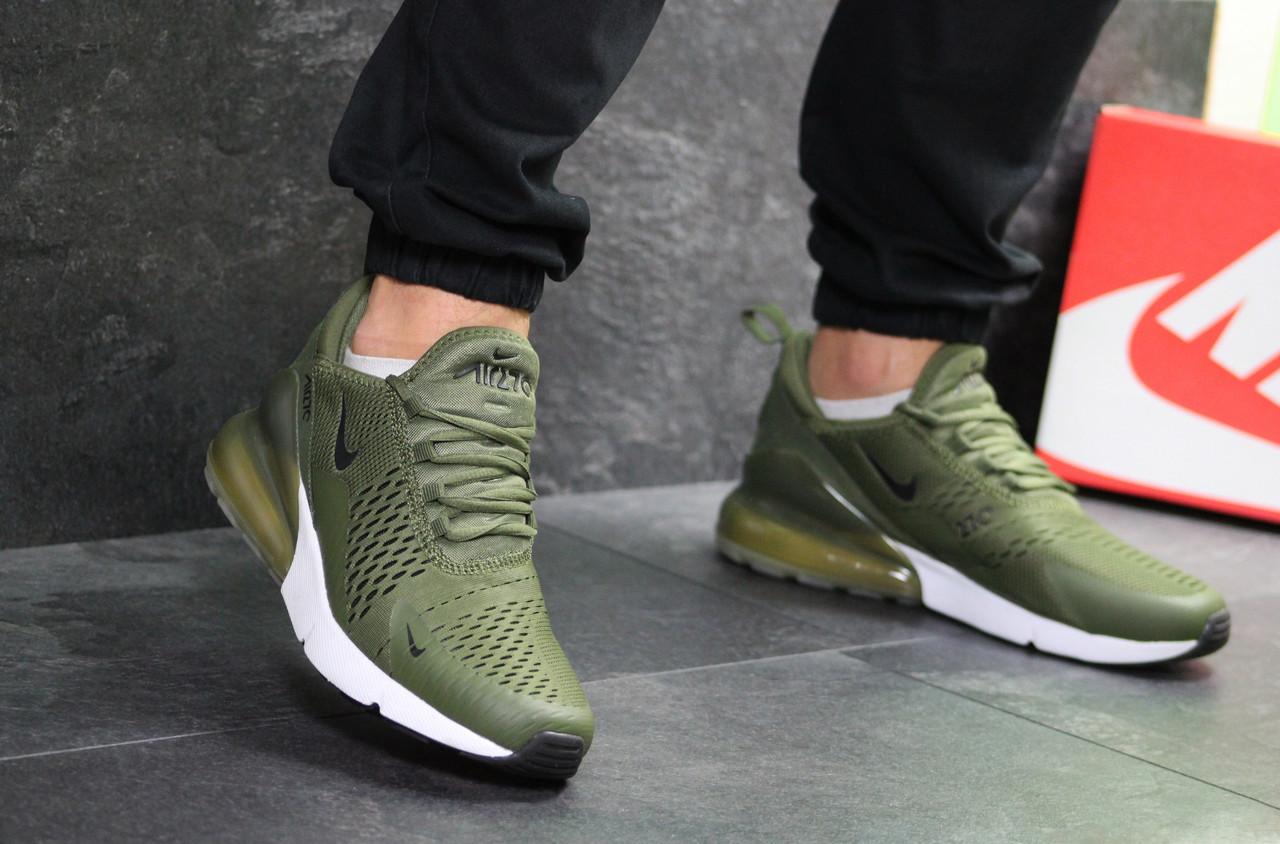 a8d9bbaf Кроссовки мужские Nike Air Max 270 в стиле Найк Аер Макс, текстиль, текстиль  код