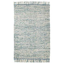 IKEA KOPENHAMN (003.819.24) тканий Килимок плоский, ручної синьо-зелений