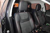 Авточехлы алькантара Mitsubishi ASX