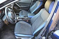 Оригинальные чехлы из алькантары Mazda 6 2013