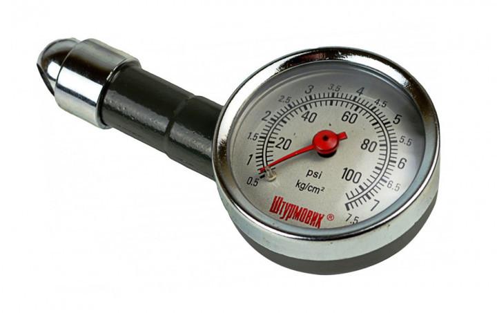 Манометр Штурмовик/АС-103/psi-кg/см2/0.5~7/Кейс