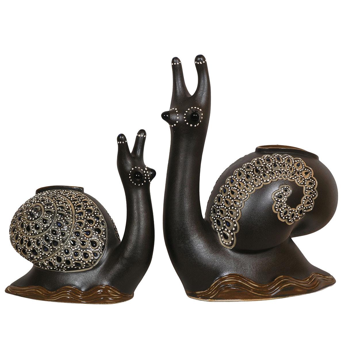 Статуетки керамічні Равлики