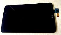Оригинальный дисплей (модуль) + тачскрин (сенсор) для LG G Pad 8.3 V500 (черный цвет)