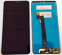 Оригинальный дисплей (модуль) + тачскрин (сенсор) для Xiaomi Mi Max 3 (черный цвет)