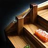 Деревянный Мостик для суши Черешня Lasco  450 мм х 220 мм х 120h мм, фото 4