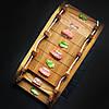 Деревянный Мостик для суши Черешня Lasco  450 мм х 220 мм х 120h мм, фото 3