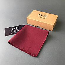Нагрудный платок I&M Craft бордовый (011102P)