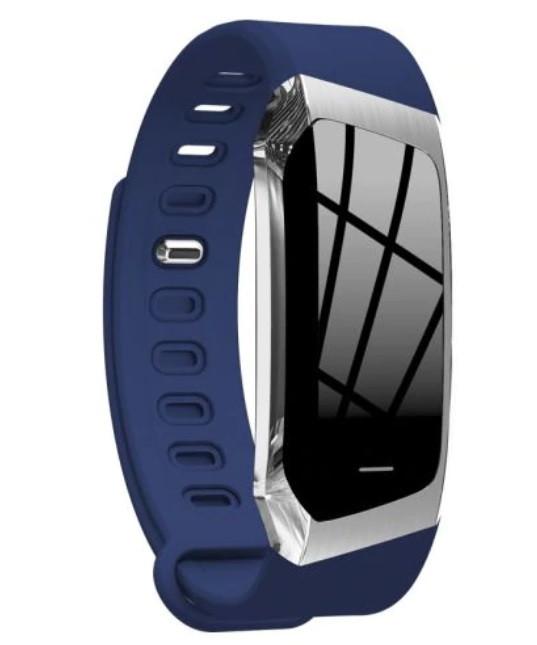 """Смарт-браслет SUNROZ E18 смарт-годинник 0.96"""" IP67 Синій (SUN3322)"""