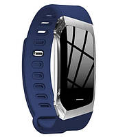 "Смарт-браслет SUNROZ E18 смарт-годинник 0.96"" IP67 Синій (SUN3322), фото 1"
