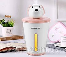 Мини увлажнитель воздуха - ночник Puppy с Led подсветкой