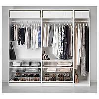 IKEA PAX (491.284.79) Шкаф/гардероб, белый
