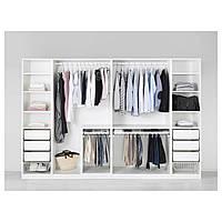 IKEA PAX (991.283.54) Шкаф/гардероб, белый