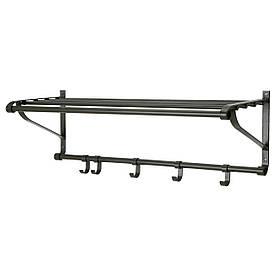 IKEA PORTIS (600.997.91) Полиця для головних уборів, чорний