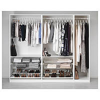 IKEA PAX (691.284.83) Шкаф/гардероб, белый