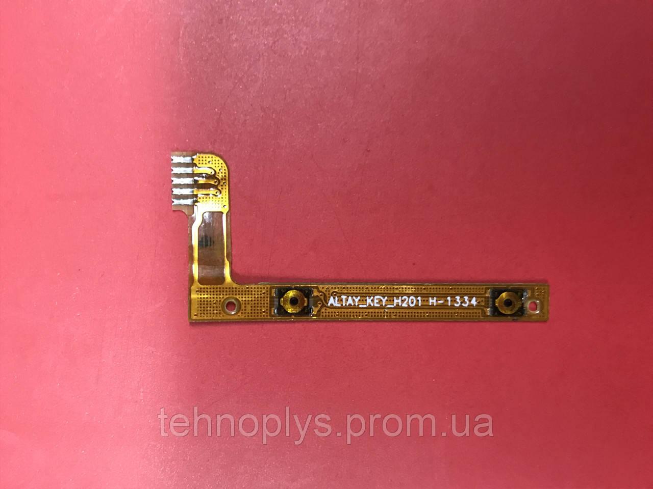 Шлейф кнопок громкости для Lenovo A3000-H